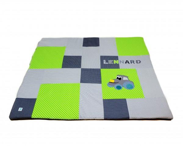Krabbeldecke Ztars grasgrün ab XL
