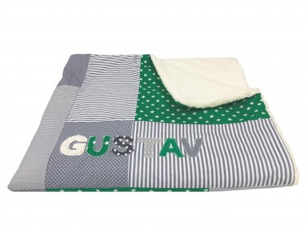 Kuscheldecke Ztars grün ab XL